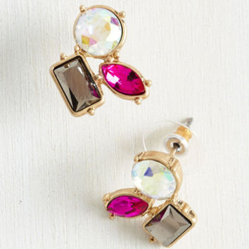 Unexpected Trifecta Earrings by ModCloth