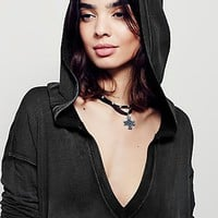 Free People Queen Of Hearts Pullover