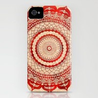 omuly?na red gallery mandala iPhone Case by Peter Patrick Barreda   Society6