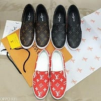 Louis Vuitton LV woman Fashion casual shoes-54