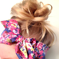Lovely Thin Headscarf Many Ways To Wear Vintage by emmaflhair