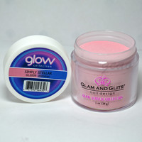 Glam and Glits GLOW ACRYLIC Glow in the Dark Nail Powder 2009 - SIMPLY STELLAR
