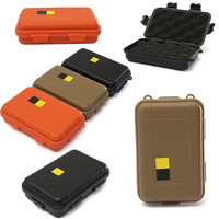 Outdoor Plastic Waterproof Airtight Survival Case Container Storage Carry Box