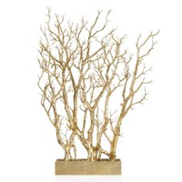 Gold Branch Tree In Pot | Potted Plants & Trees | Botanicals & Plants | Accessories | Decor | Z Gallerie