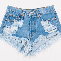 Keepers Stone Cut Off Distressed Dreamer Shorts