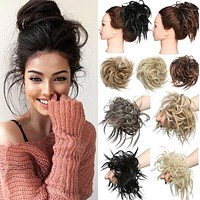 Rubber band chemical fiber wig ring