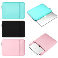"""2016 New 15.6 Inch Neoprene Laptop Bag Tablet Sleeve Pouch Bag Notebook Computer Bag For 15.6"""" HP Dell Acer Asus Sony Toshiba PC"""