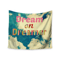 """Robin Dickinson """"Dream On"""" Clouds Wall Tapestry"""