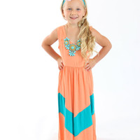 Little Diva Turquoise Necklace - Ryleigh Rue Clothing by MVB