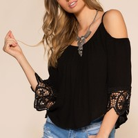 The Sweet Life Top - Black