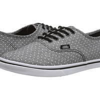 Vans Authentic™ Lo Pro (Chambray Dots) Black - Zappos.com Free Shipping BOTH Ways