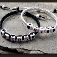"Couples Bracelets "" His and Hers "" Bracelet"