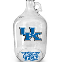University of Kentucky Wildcats ~ Beer Growler ~ Home Brew ~ Beer Gift ~ Sports Fans ~ Gifts for Him ~ Football ~ Growler ~ 1 Gal