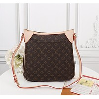 LV Louis Vuitton  Newest Popular Women Leather Handbag Tote Crossbody Shoulder Bag Satchel Burgundy