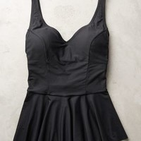 Mix-and-Match Peplum Tankini by Anthropologie