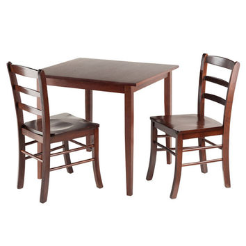 Groveland 3 Piece Square Dining Table with 2 Chairs
