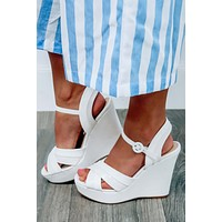 Measure Up Wedges: White