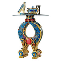 Wings of Horus Egyptian Altar Side Table - QL136220 - Design Toscano