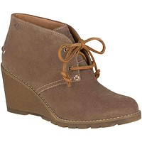 Women's Celeste Prow Bootie in Taupe by Sperry