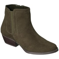 Women's Merona® Kaitlin Casual Ankle Boot - Olive