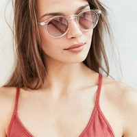 Clear Sky Round Sunglasses