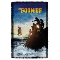 The Goonies Ship Woven Throw Blanket