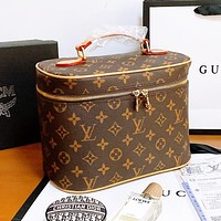 Louis Vuitton LV Box Series Women Leather Handbag Tote Cosmetic Bag Crossbody Satchel Shoulder Bag