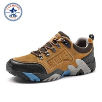 Limited Winter Outdoor Hiking Shoes Men Slip-on Boots Trekking Genuine Leather Climbing for Mens Warm Sneakers Sport Hunting