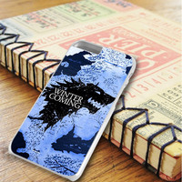 Game Of Thrones Stark Clan Blue Map iPhone 6 Plus | iPhone 6S Plus Case