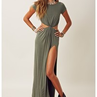 OVER N' OUT MAXI DRESS