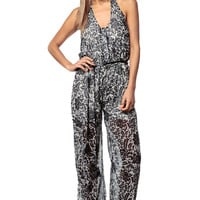 Busy Bee Belted Jumpsuit