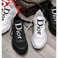 Dior hot sale men and women breathable casual shoes