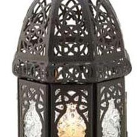 Iron Black Lattice Lantern