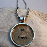 Be Happy Pendant