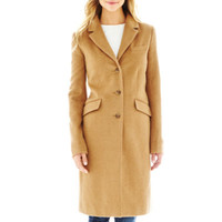 jcpenney | Liz Claiborne® Wool-Blend Chesterfield Coat