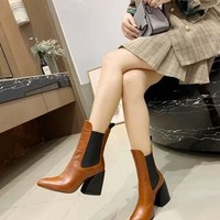 Chloe  Women Casual Shoes Boots fashionable casual leather Women Heels Sandal Shoes
