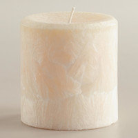 "3"" Vanilla Bean Pillar  Candle - World Market"