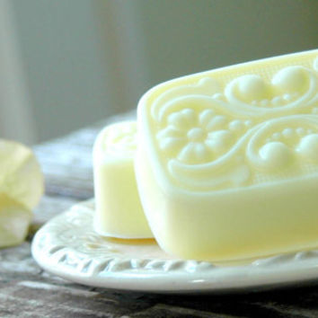 Lemon Ginger & Honey . shea butter soap