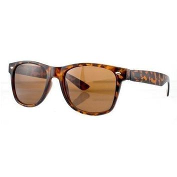 Vintage Inspired Retro Classic Horned Rim Sunglasses