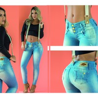 100%  Authentic Colombian Push Up Jean 1713-1 by Muranos