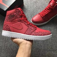 Air Jordan 1 Retro 30TH CG AJ1 Red Men Basketball Shoes US 7-13