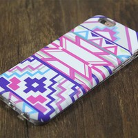 Ethnic Tribal Pink Tough Protective iPhone XS Max Case Galaxy S8 plus S7 Edge SE Snap Case 3D 213