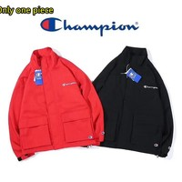 Champion men's and women's fashion casual jacket loose warm jacket