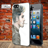 One Direction Zayn Malik Case For iPhone 5, 5S, 5C, 4, 4S and Samsung Galaxy S3, S4