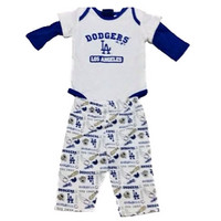 Dodgers Infant Pajama 3 Piece Set