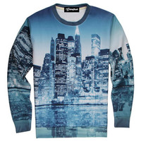 Winter Skyline Crewneck