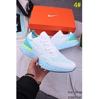 Nike Epic React Flyknit Trending Women Men Breathable Running Sport Shoes Sneakers 4#