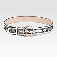 Gucci - Interlocking G Buckle Belt - Saks Fifth Avenue Mobile