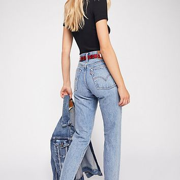 Levi's Wedgie Icon High Rise Jeans