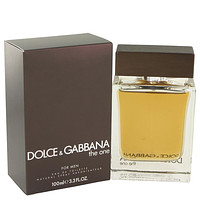 The One by Dolce & Gabbana Eau De Toilette Spray 3.4 oz for Men